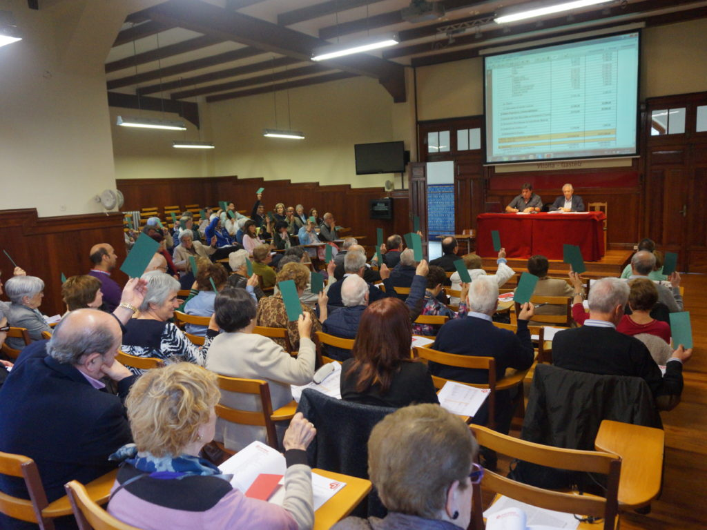 Asamblea de Cáritas Diocesana de Vitoria