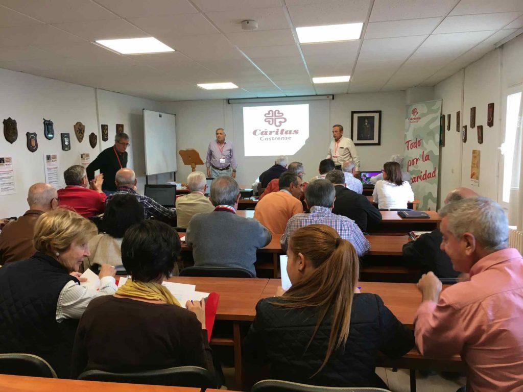 Primer curso de formación de voluntarios en la Cáritas Castrense