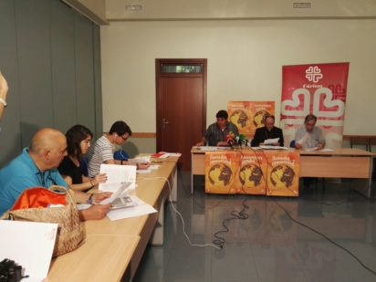 Cáritas presenta su memoria anual en relación a los 372 proyectos que desarrolla en Euskadi