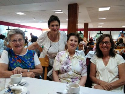 Tres voluntarias de Cáritas en la Escuela de Verano de Cáritas Española