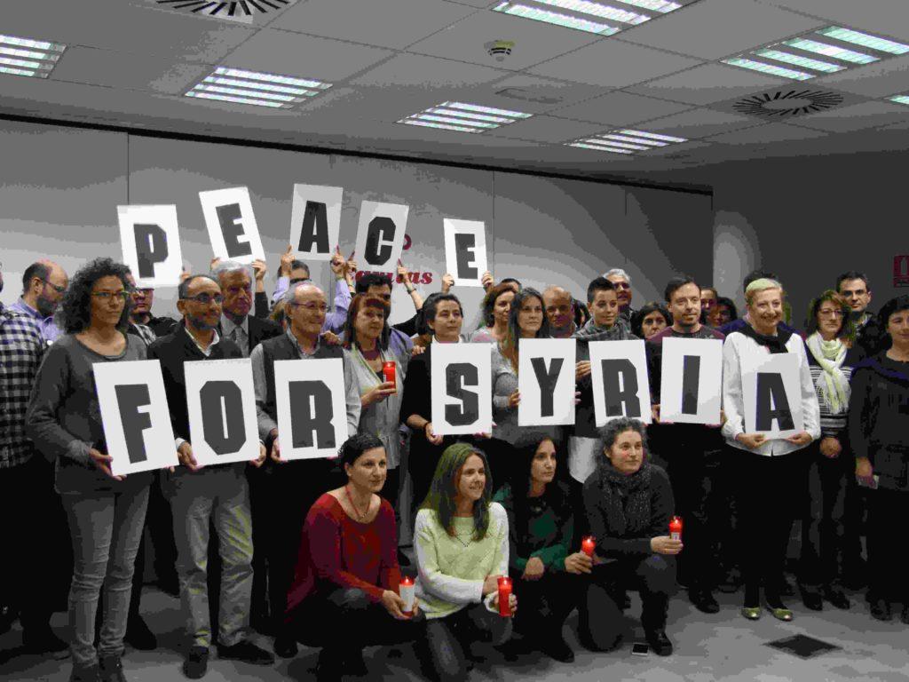 Sexto aniversario del inicio de la guerra: Jornada de oración de la red Cáritas en todo el mundo por la paz en Siria