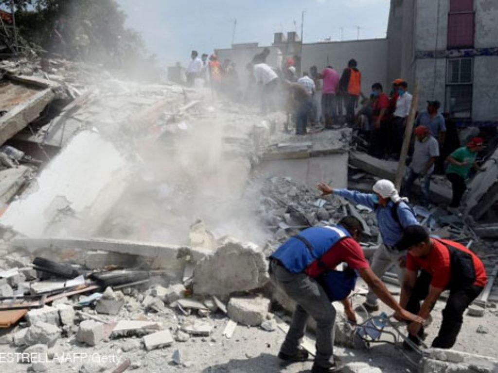 México: Cáritas se moviliza para socorrer a las víctimas del seísmo que ayer golpeó Morelos, Puebla y México DF