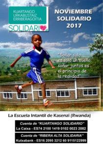 """Videoconferencia Hermanamiento """"Infancia solidaria - Hablando con Ecuador"""". Noviembre solidario en Kuartango @ Locales del Ayuntamiento"""
