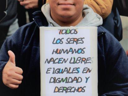 Personas sin hogar y expertos de Cáritas de toda España se reúnen en Madrid para demostrar que «Juntos somos más»