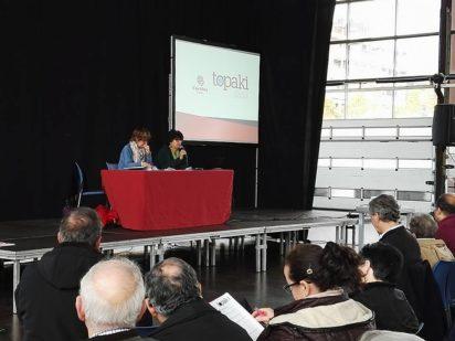 Alrededor de 600 personas acudieron al encuentro de formación Topaki sobre bien común