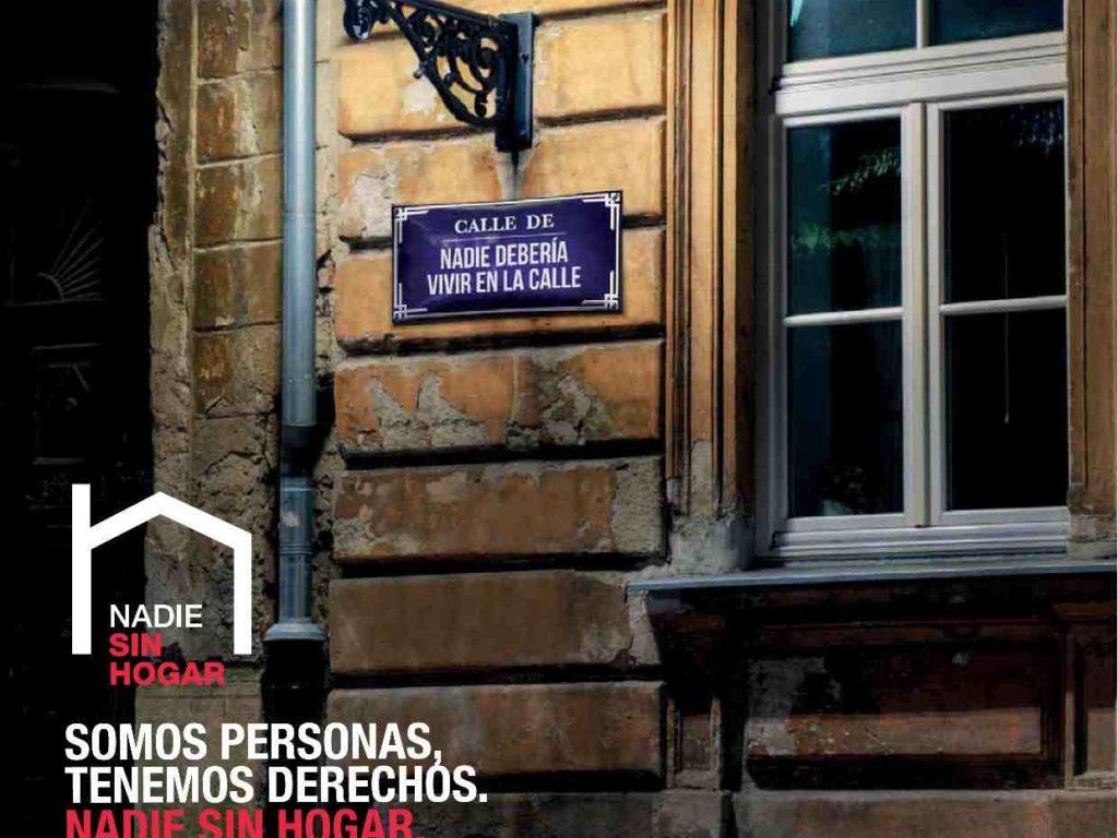 """La Jornada de las Personas Sin Hogar cumple 25 años bajo el lema """"Somos personas, tenemos derechos"""""""