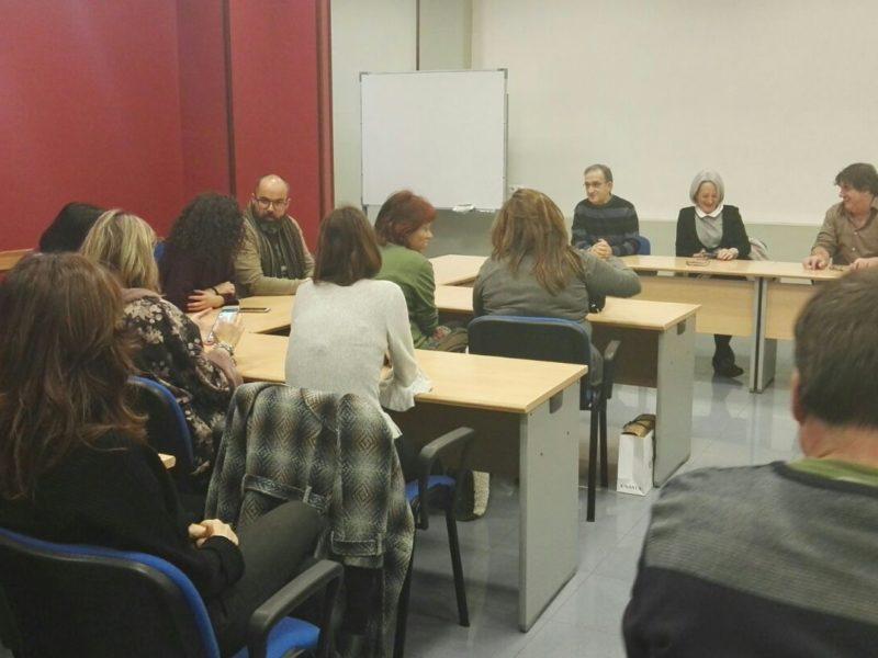 Primer encuentro de Maite Sebal con agentes de Cáritas