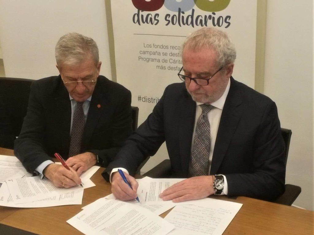 FEDIFAR y la Universidad Francisco de Vitoria colaborarán con Cáritas en la protección de las personas vulnerables