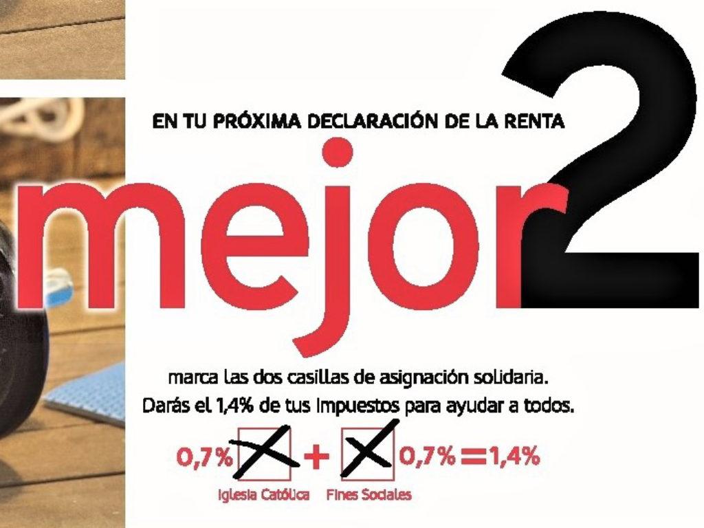 Cáritas llama a marcar las dos casillas solidarias en la Declaración de la Renta