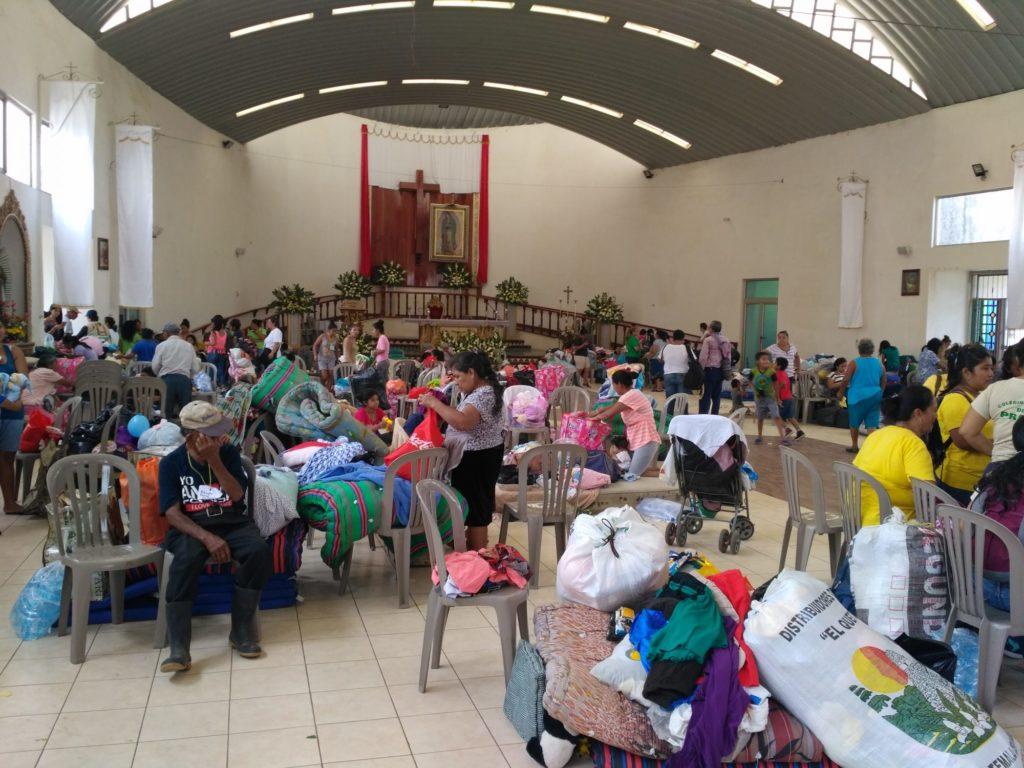Guatemala: Alimentación, agua y vestido, necesidades más urgentes de los damnificados por el volcán de Fuego