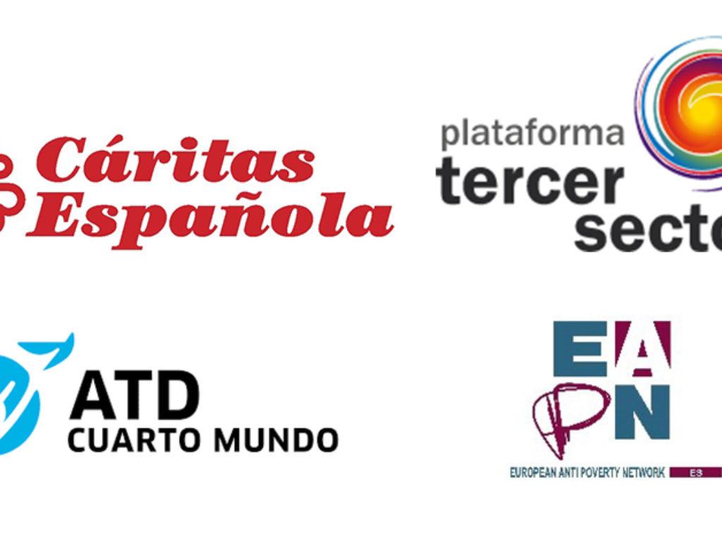 Cáritas, el movimiento ATD Cuarto Mundo, La Plataforma del Tercer Sector y EAPN reclaman la ratificación plena de la Carta Social Europea