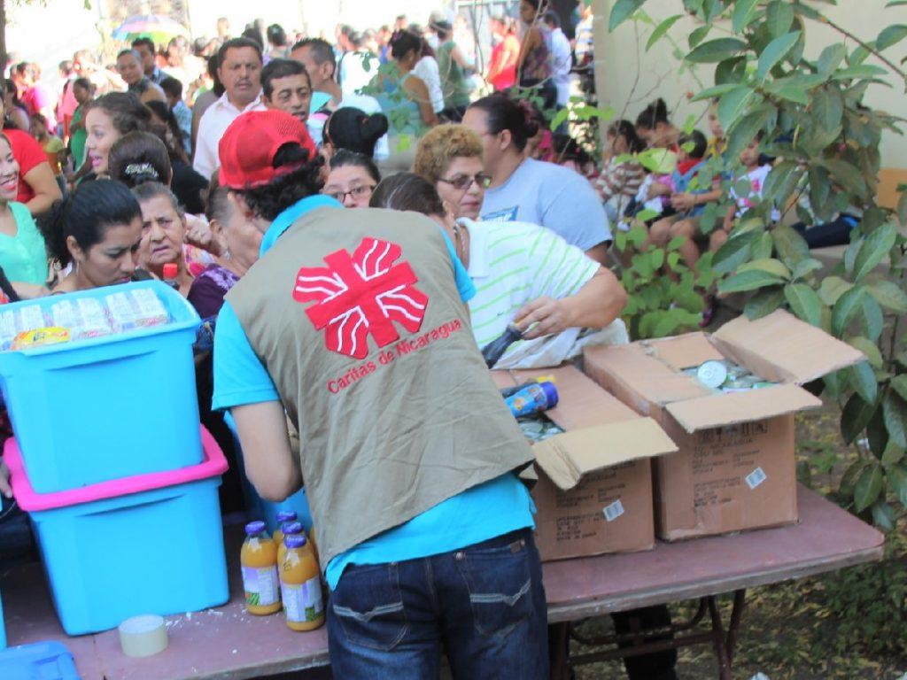 Cáritas Española expresa su solidaridad con la Cáritas, la Iglesia y el pueblo de Nicaragua