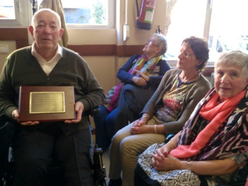 Homenaje a Doroteo Lekuona en la asamblea del Fórum 50-70