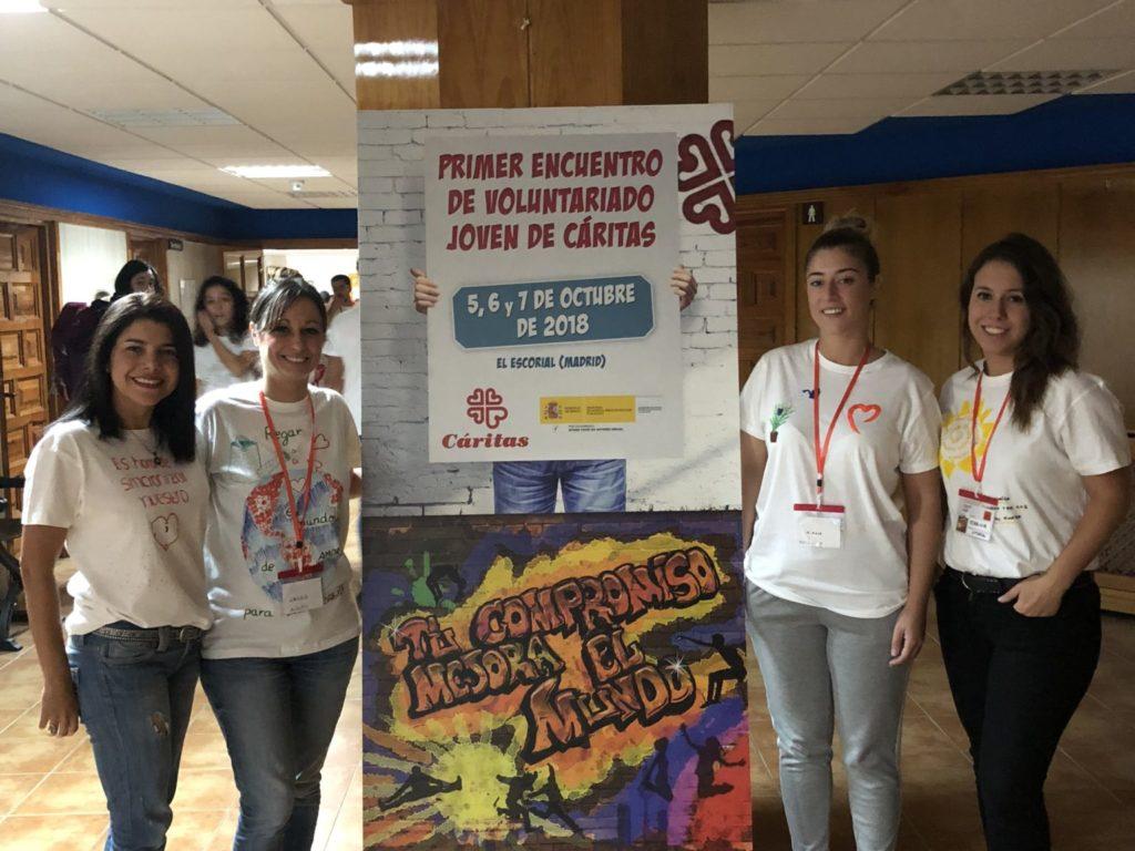 Asistimos al Primer Encuentro de Voluntariado Joven de Cáritas
