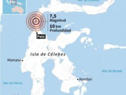 Cáritas con Indonesia. Terremotos y posterior tsunami.