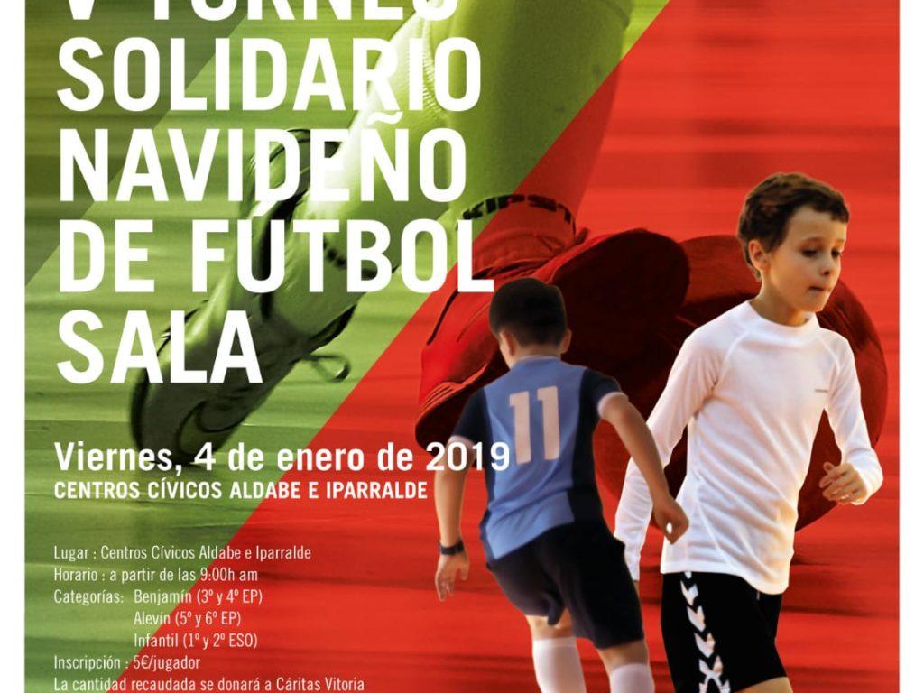 V Torneo Solidario Navideño de Fútbol-Sala.