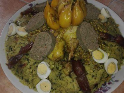El compartir nos enriquece. Comida buffet intercultural.