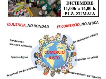Mercadillo solidario* Zona Lakua-Sansomendi