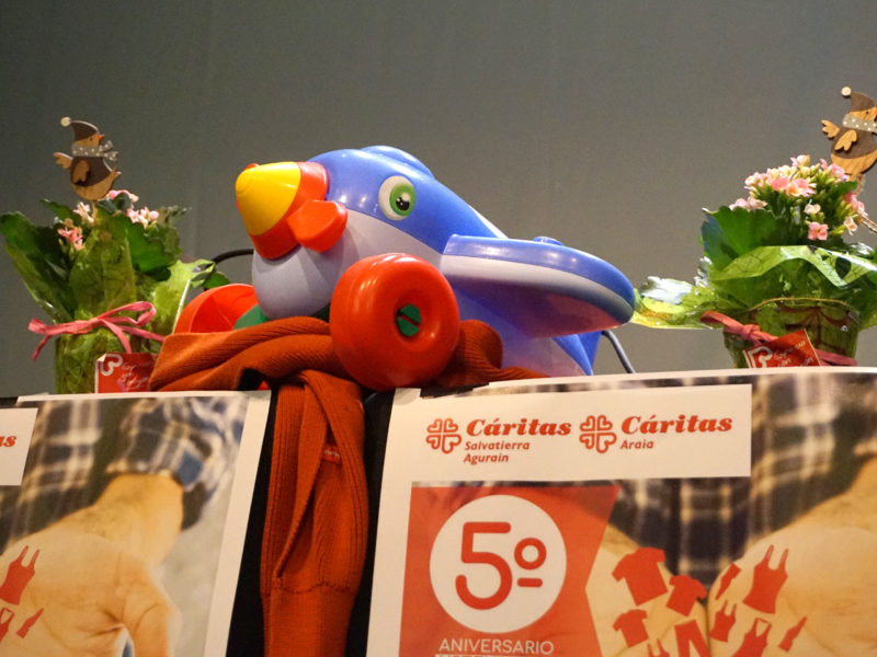 """5º Aniversario tienda Salvatierra-Agurain, """"Espacio con Corazón"""""""