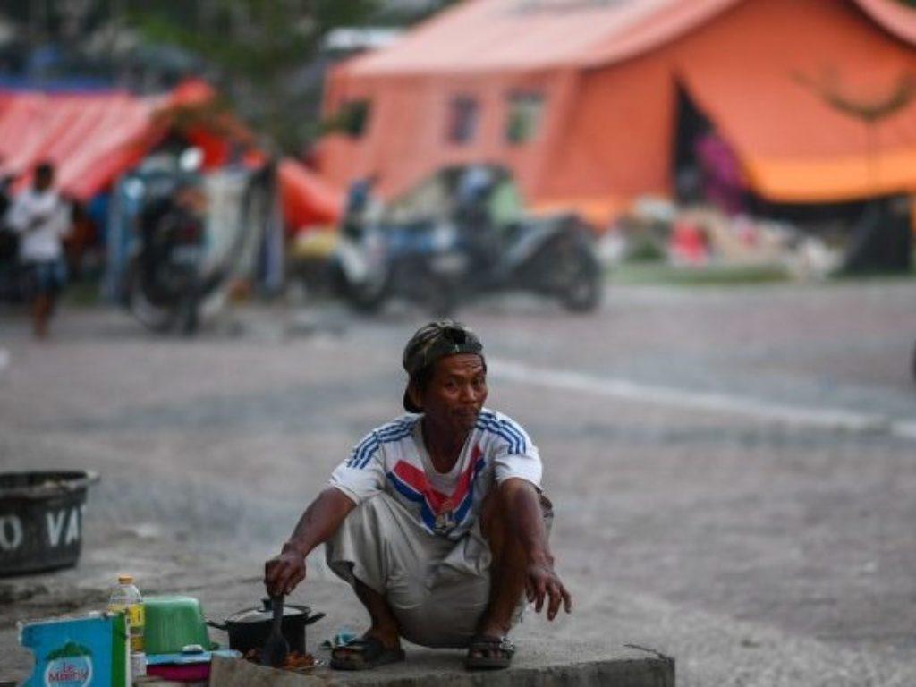 Cáritas Indonesia refuerza su ayuda a los damnificados del tsunami en el Estrecho de Sonda.