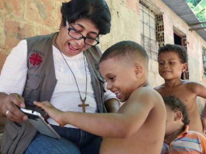 Comunicado de Cáritas Venezuela sobre ayuda humanitaria.