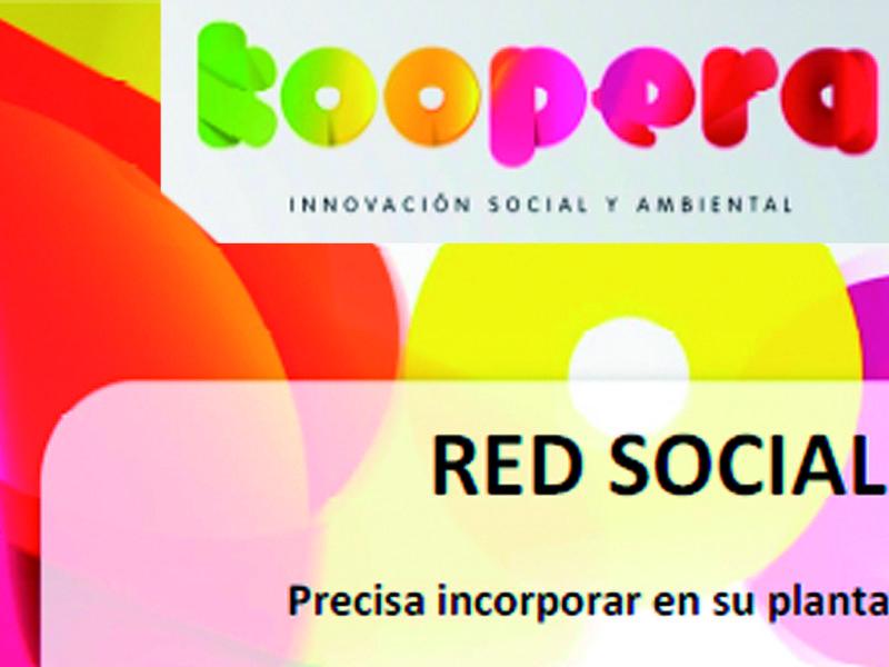 Oferta de empleo. Koopera_Red Social