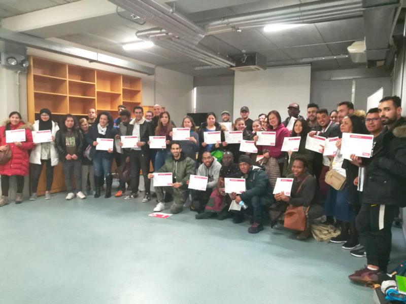 """Curso de Habilidades Sociales 2019. Zona Sur: """"Cómo integrarse y participar en nuestra ciudad, Vitoria-Gasteiz""""."""