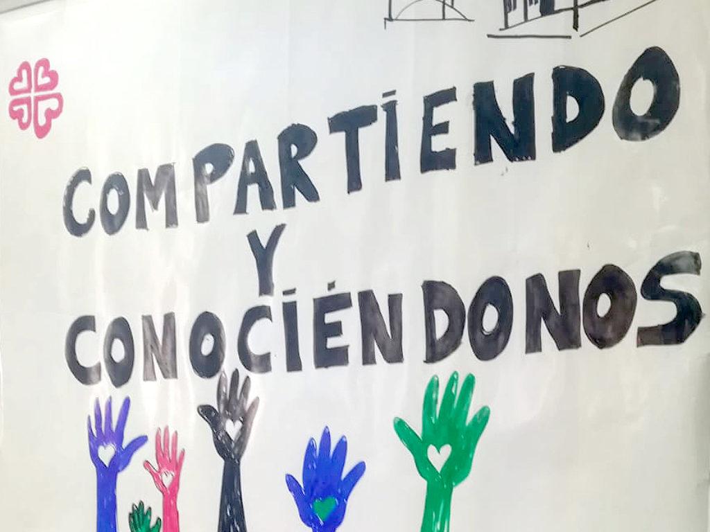 """1º Encuentro """"Conociéndonos y  Compartiendo"""" en la Zona Oeste de Cáritas y La Unidad Pastoral de San Martín y Jesucristo Resucitado"""
