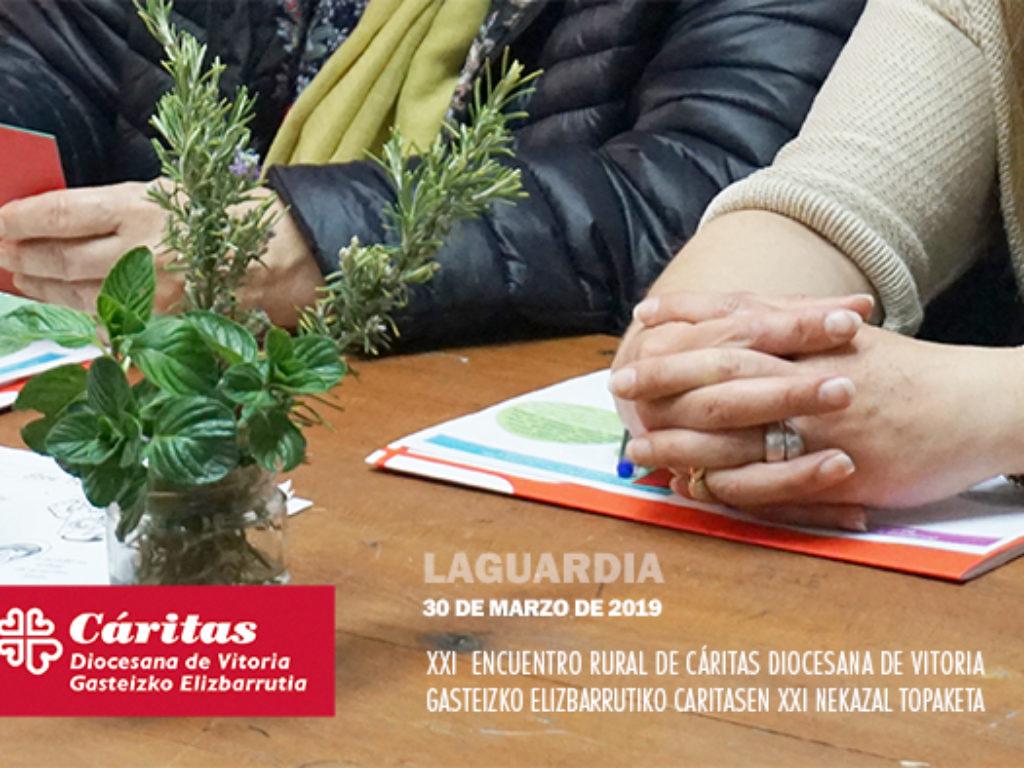 XXI Encuentro Rural de Cáritas Diocesana de Vitoria. ¿VIVIMOS O CONVIVIMOS?