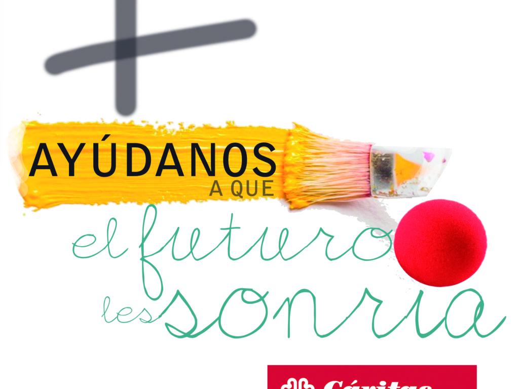 Cáritas presenta su Programa de Infancia a la Campaña Solidaria de Michelin.