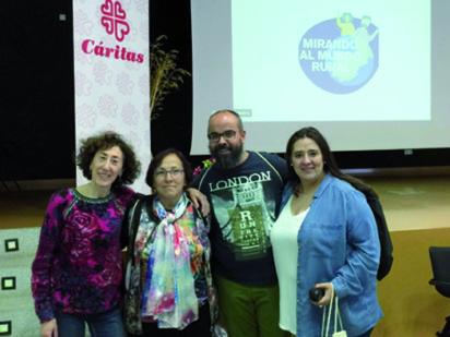 """Cáritas Vitoria participa en el I Encuentro Confederal """"Mirando al Mundo Rural"""""""