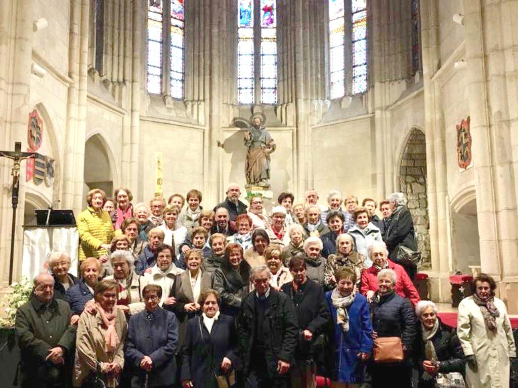 Cuarenta años acompañando a mayores desde la parroquia de San Pedro_Cáritas Zona Centro