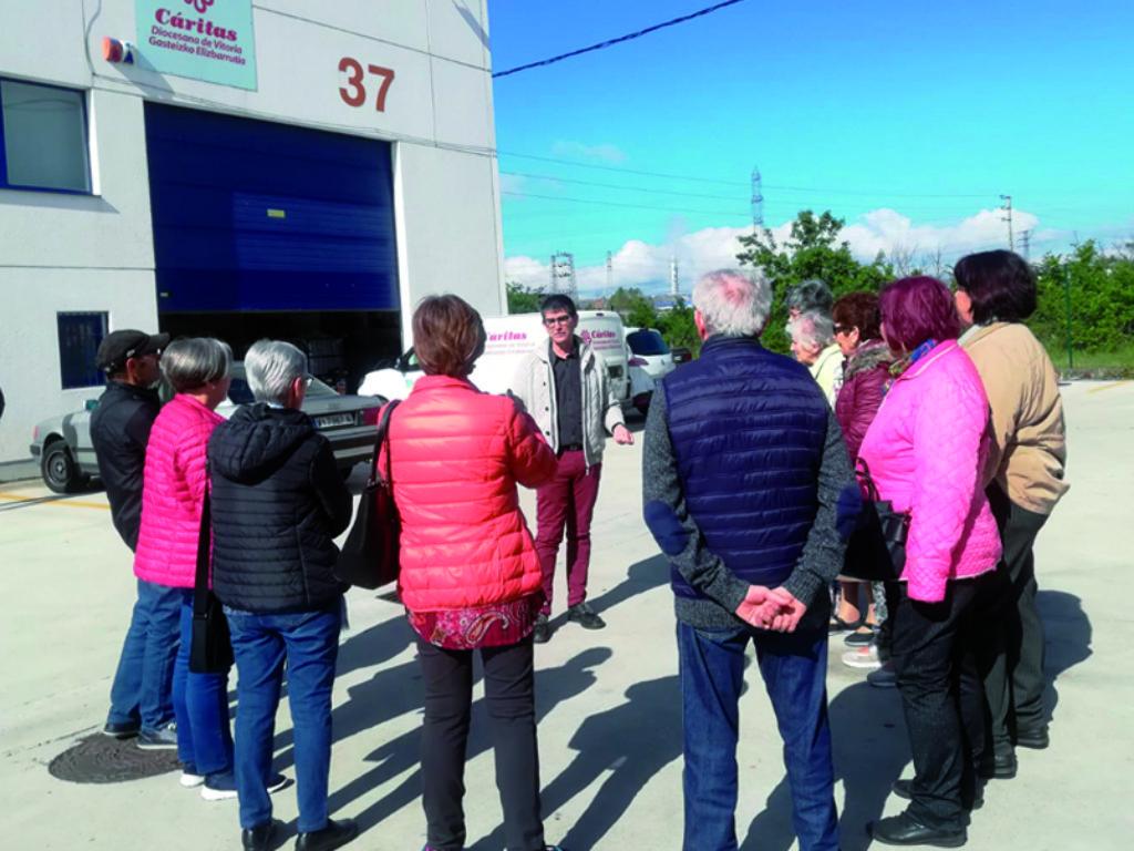 VISITA a los talleres de Gamarra_Unidad Pastoral de San Martín y Jesucristo Resucitado