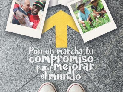 Pon en marcha tu compromiso para mejorar el mundo. Campaña Institucional_Corpus 2019