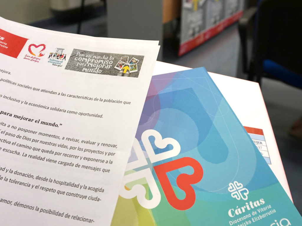 Cáritas atendió a 5.899 familias en 2018.