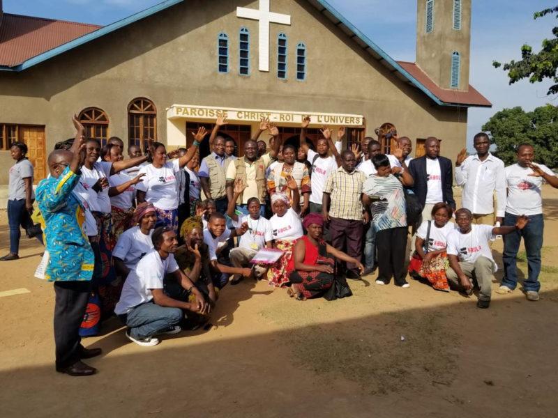 Campaña de emergencia de Cáritas para atender a las víctimas de ébola en la República Democrática del Congo.