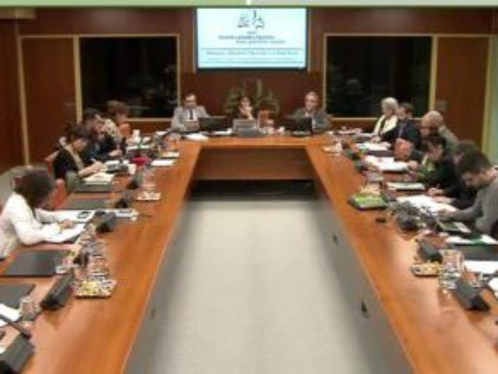 Cáritas Euskadi. Comparecencia en el Parlamento Vasco.