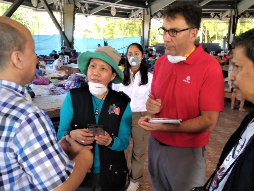 Erupción del volcán Taal: «La respuesta del pueblo filipino a la emergencia está siendo impresionante».