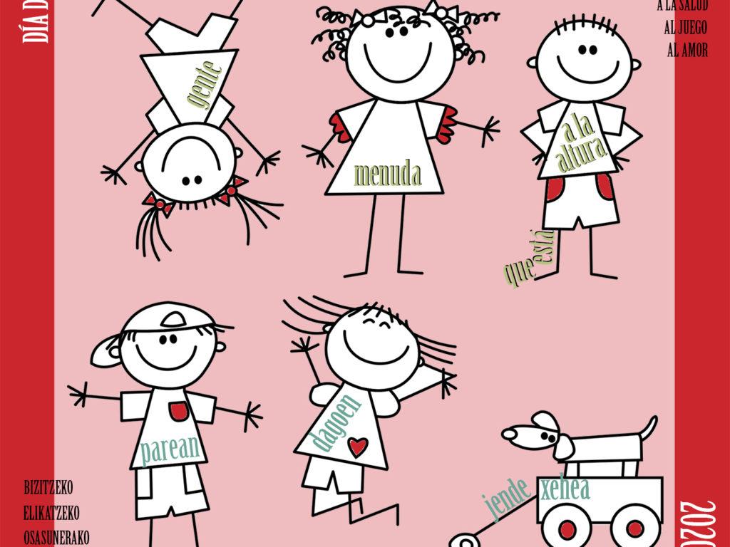 Día de la Infancia: Felicidades a todos los niños y niñas por dar la talla