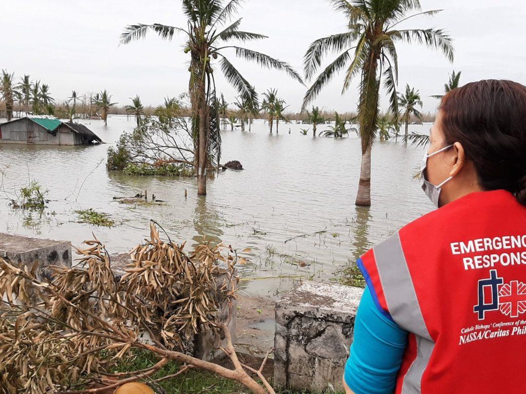 Cáritas Española apoya la respuesta humanitaria de Cáritas Filipinas a los damnificados del súper tifón «Goni»