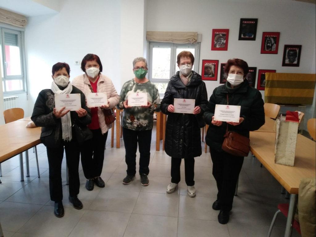 Pili, Dioni, María Ángeles, Candi y María Luisa: un viaje de agradecimiento y entrega a Cáritas