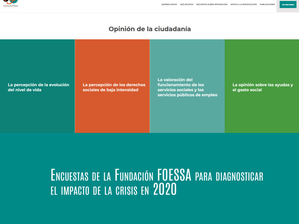 Encuestas en domicilios para el próximo informe FOESSA