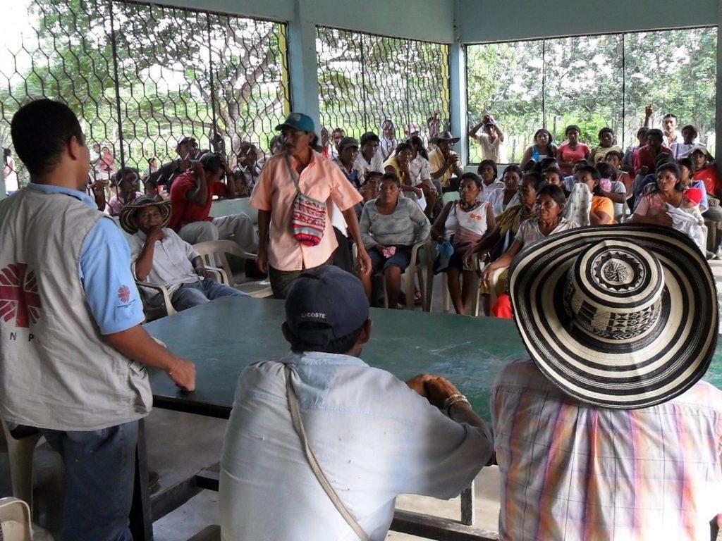 Urge un proceso de reconciliación entre el pueblo colombiano