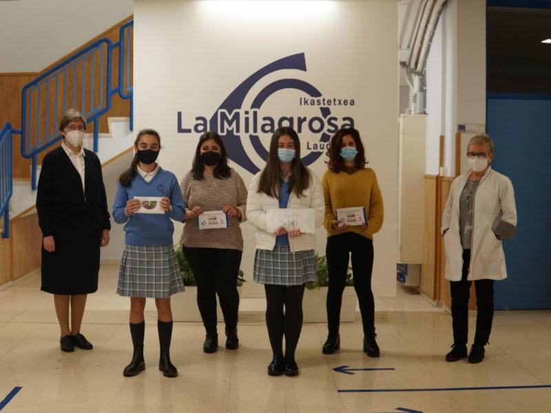 El colegio La Milagrosa de Llodio desarrolla un proyecto solidario para apoyar a Cáritas