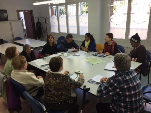 Rincón de Lectura Compartida en Zaramaga