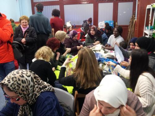 La Escuela de Mujeres Santa María celebra el jueves de lardero