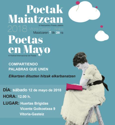 Poetas en mayo2018 Vitoria  Inst