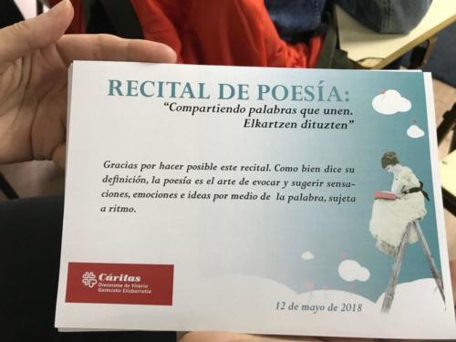 PoetasenMayo2018 Vitoria 16
