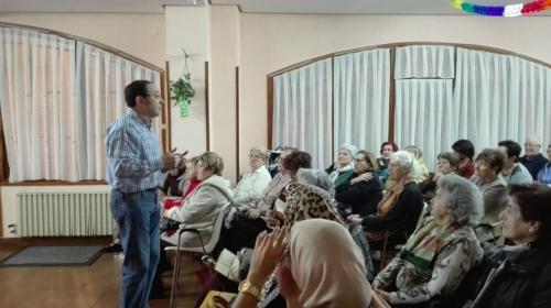 Charla de Jesús Prieto: La diversidad y el compartir nos enriquece.
