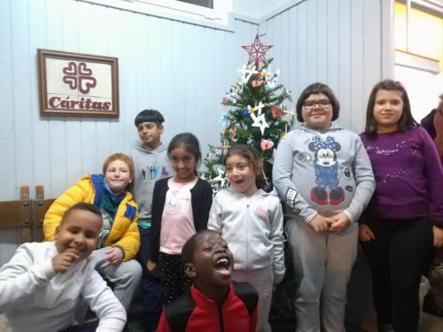 Encuentro de Navidad de Cáritas Oeste